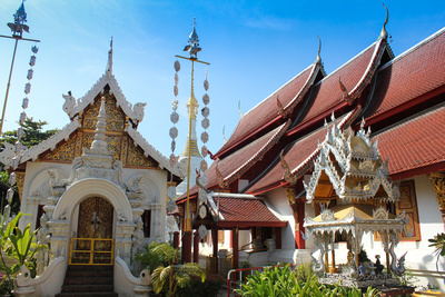 Wat Chetawan, Chiang Mai, Thailand