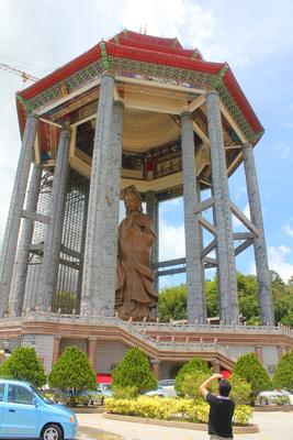 Kuan Yin statue in Malaysia