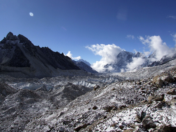 View from Khumbu glacier