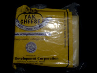 A block of Yak Cheese from Nepal