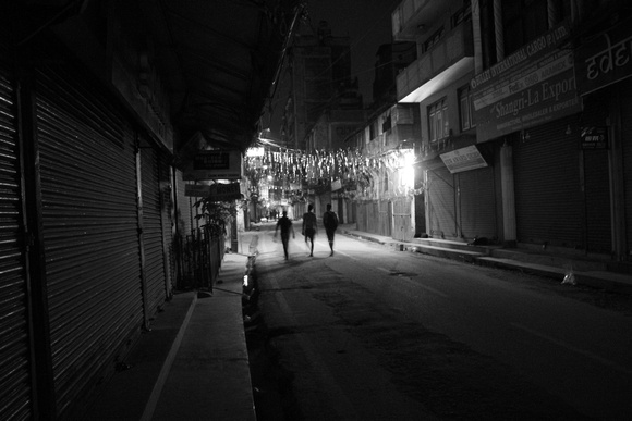 Heading home from Thamel at night