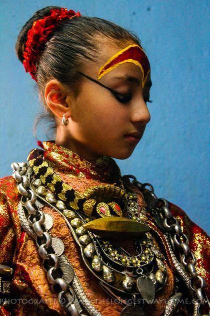 Living Goddess of Nepal