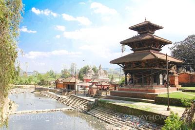 Krishna temple (Bansha Gopal Temple) in Panauti