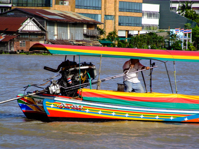 River boats in Bangkok
