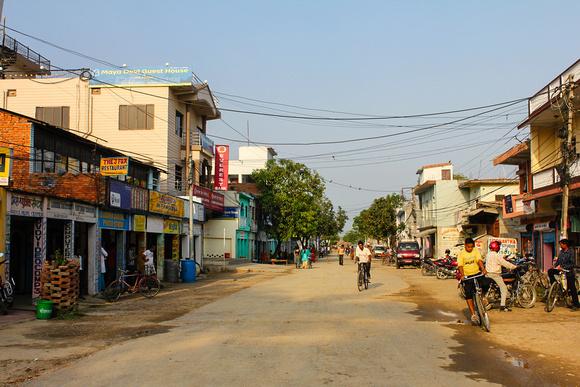 Lumbini bazaar