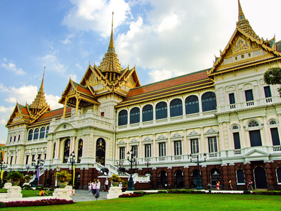 The Inner Palace section of the Grand Palace in Bangkok