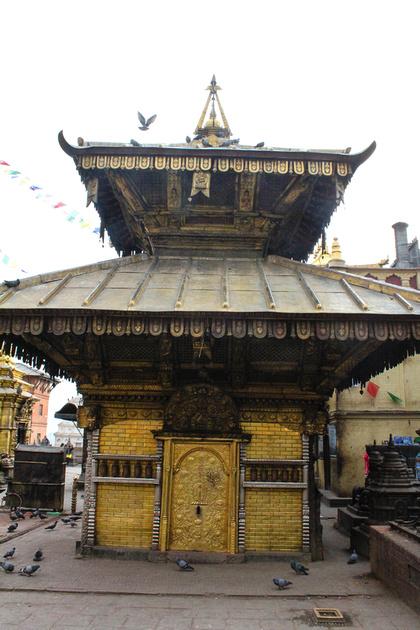 Hariti Temple at Swayambhunath, Kathmandu