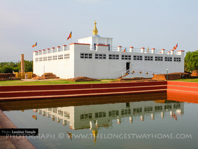 Lumbini Temple in Nepal