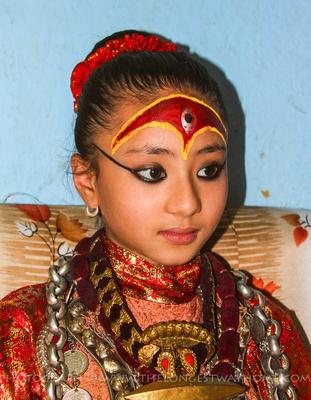 Former Kumari of Patan