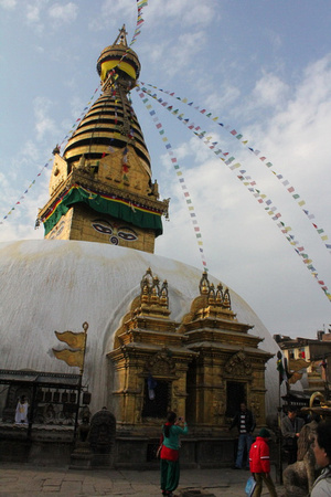 Swayambhunath after the earthquake
