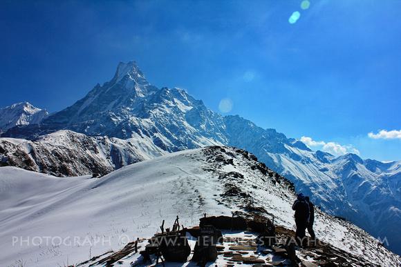 Heading to base camp on Mardi Himal