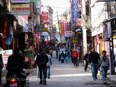 Street in Thamel