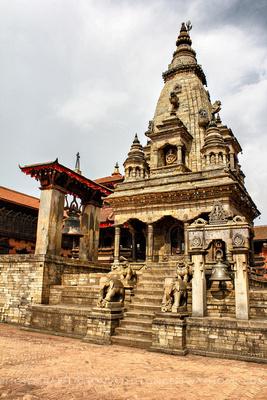 Vatsala Durga Temple with the Taleju Bell in Bhaktapur