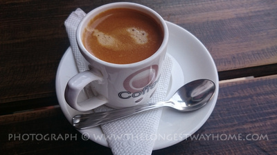 A cup of good coffee in Nepal
