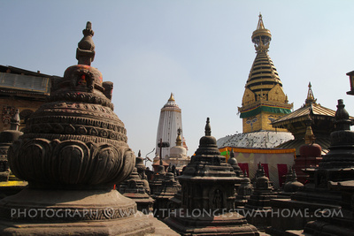 Shrines around Swayambhunath