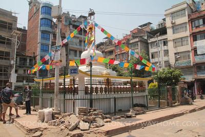 Thahiti Chowk Stupa in Kathmandu