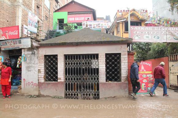 Ganesh shrine in North Thamel