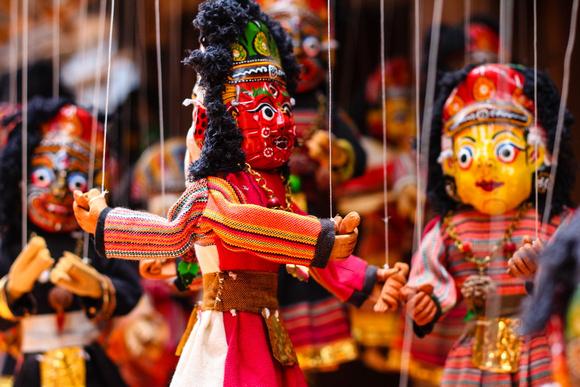 Papier Mache Dolls from Nepal