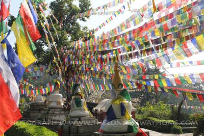 Prayer Flags at Swayambunath