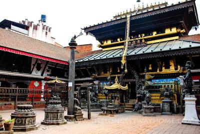 Uku Bahal (Rudravarna Mahavihar), Patan, Nepal
