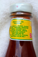 Ingredients of Banana Ketchup.