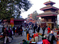 Finally as the days arrives Durba Square and Kathmandu move into action