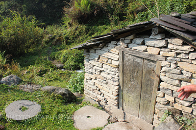 Local village on the Mardi Himal trek