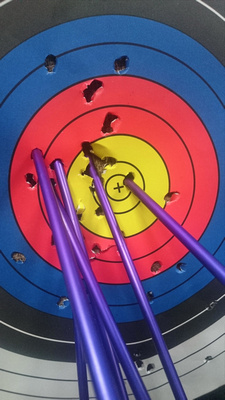 Archery target in Kathmandu