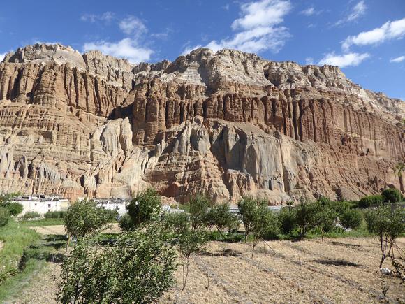 Chusang in Upper Mustang