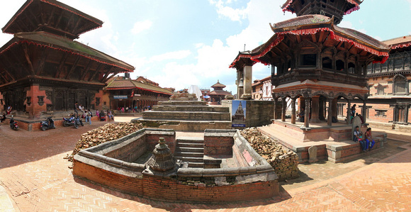 Bhaktapur Durbar Square after the earthquake