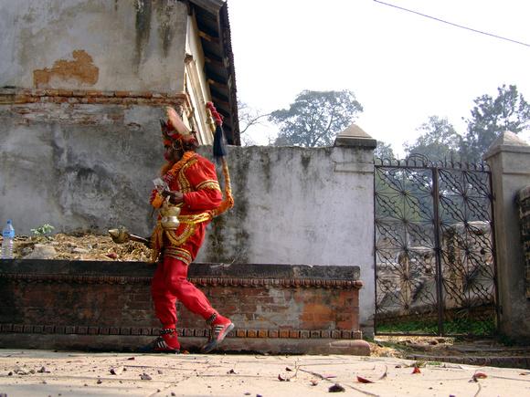 Hanuman at Pashupatinath