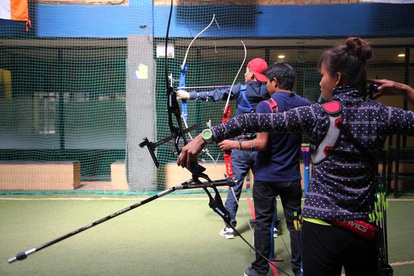 Archers in Kathmandu