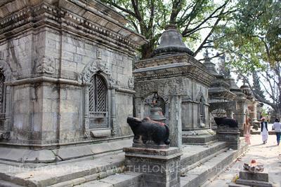 Gorakhnath Temple Complex at the Pashupatinath Temple, Nepal