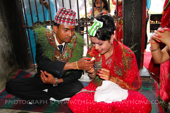 A Nepalese Wedding In An Ancient Newari Temple