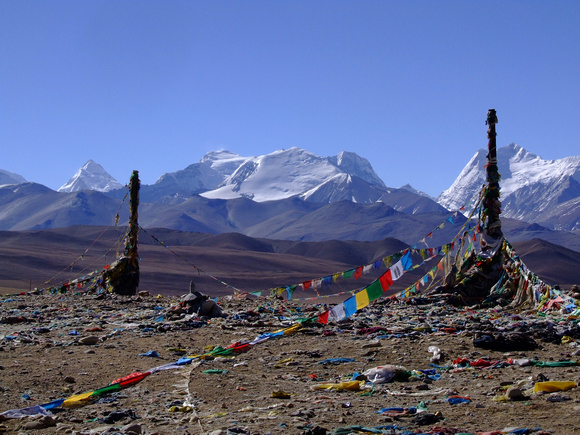 Mount Everest from the Tibetan Side