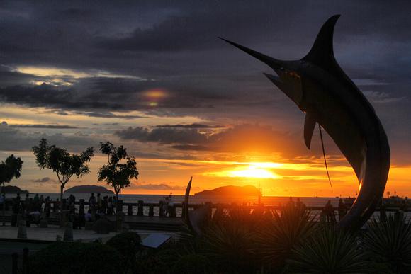 Sunset in Kpta Kinabalu, Sabah, Malaysia