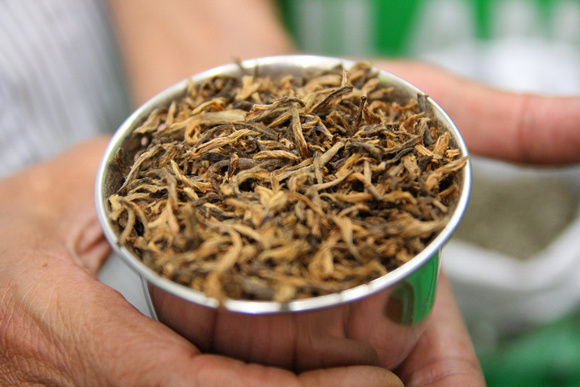 Finding the best tea in Nepal