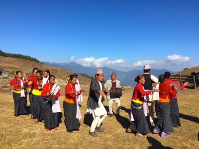 The Kirat people are one of the highlights of the Mundum trek