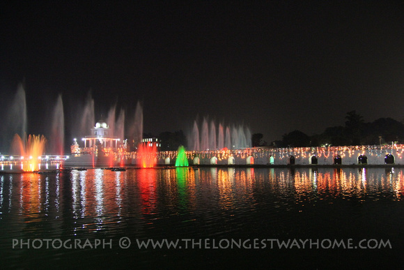 Rani Pokhari lit up for Chhath