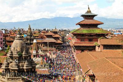 Patan Durbar Square in Nepal