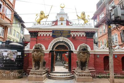 Entrance to Rudra Varna Mahavihar