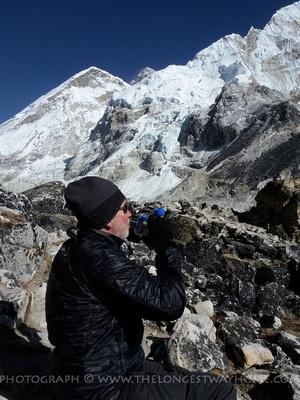 Over 60 trekking in Nepal