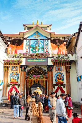 Pashupatinath Temple Gates in Kathmandu, Nepal