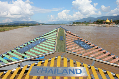 The Golden Triangle in North Thailand