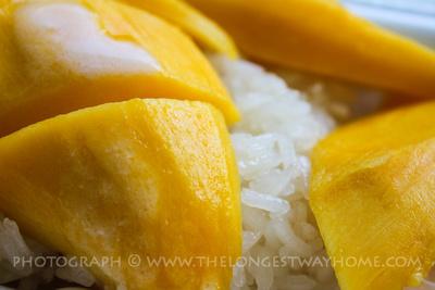 Thai mango and sticky rice!