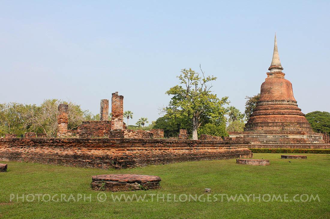 Wat Sra Sri And Tra Pang Tra Kuan Sukhothai, Thailand