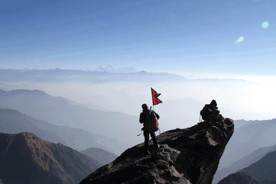 Trekking Mundum views