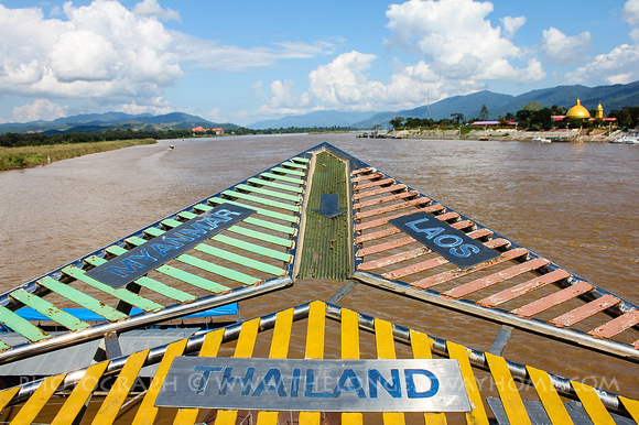 Thailand's Golden Triangle borders Myanmar and Laos