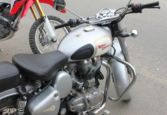 Enfield motorbike