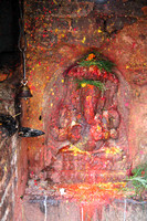 Ganesh statue, the elephant headed god (Son of Shiva)
